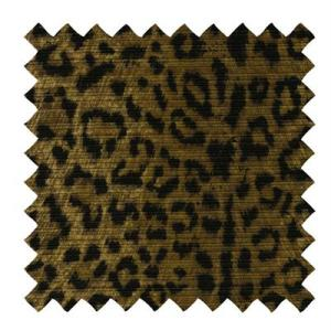 L501-Linen Fabric in a Cheetah Print
