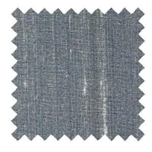 L517 - Dupioni Silk Fabric in Pewter