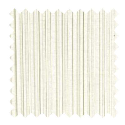 L850 - Mushroom Pleat in Bleached White