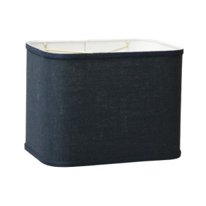 Round Corner Retro Rectangle Drum Hardback Lampshades