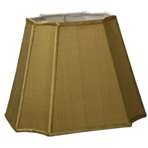 Inverted Cut Corner Rectangle Hardback Lampshades