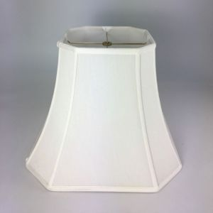 Cut Corner Square Bell Silk Lampshades