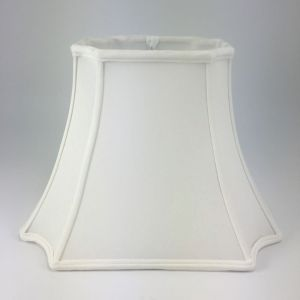 Inverted Corner Rectangle Silk Bell Lampshades