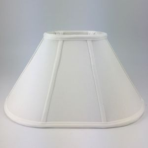 Racetrack Oval Silk Lampshades