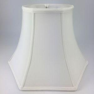 Round Top Hexagon Silk Bell Lampshades