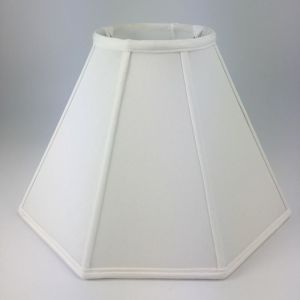 Round Top Octagon Silk Coolie Lampshades