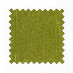 Lime Dupioni Pure Silk