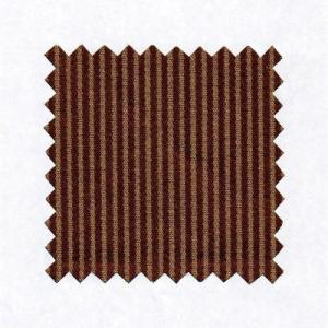 Brick Pin Stripe Silk