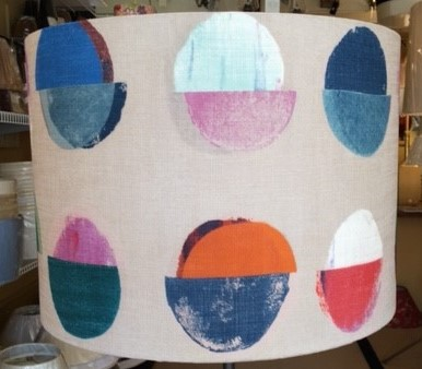 Customer Owned Material Hardback Lampshades