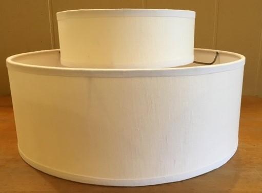 Hardback Lampshade Repairs 2 Drum After