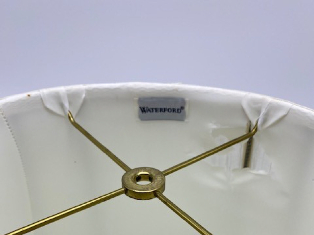 Waterford Lampshade Ripped Lining Repair