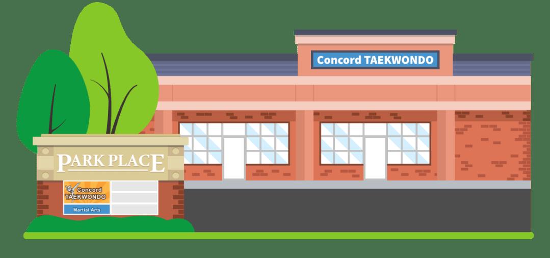 Concord Taekwondo America Exterior Illustration