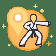 Try Free Taekwondo Class Icon