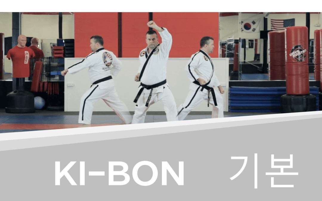 How to: Ki-Bon – Taekwondo White Belt Form (with Video!)