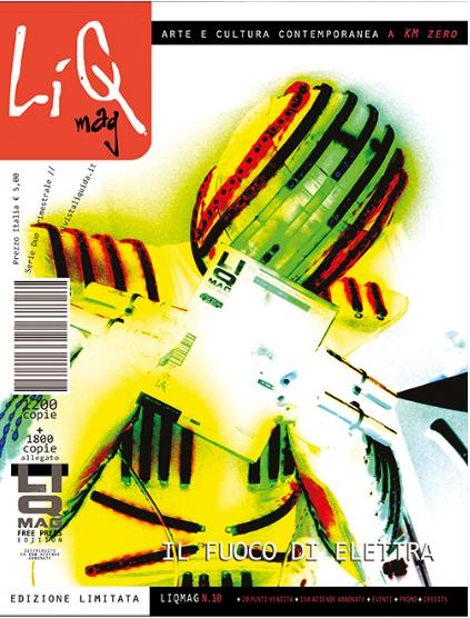 Cover LiQMag n.11 - Il fuoco di Elettra