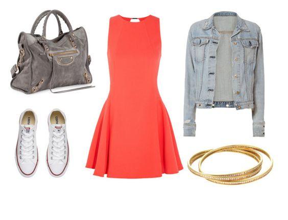 Come abbinare il colore corallo - l'abito bon ton
