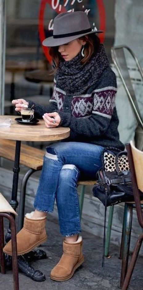 Stivali di pelo: come indossarli2