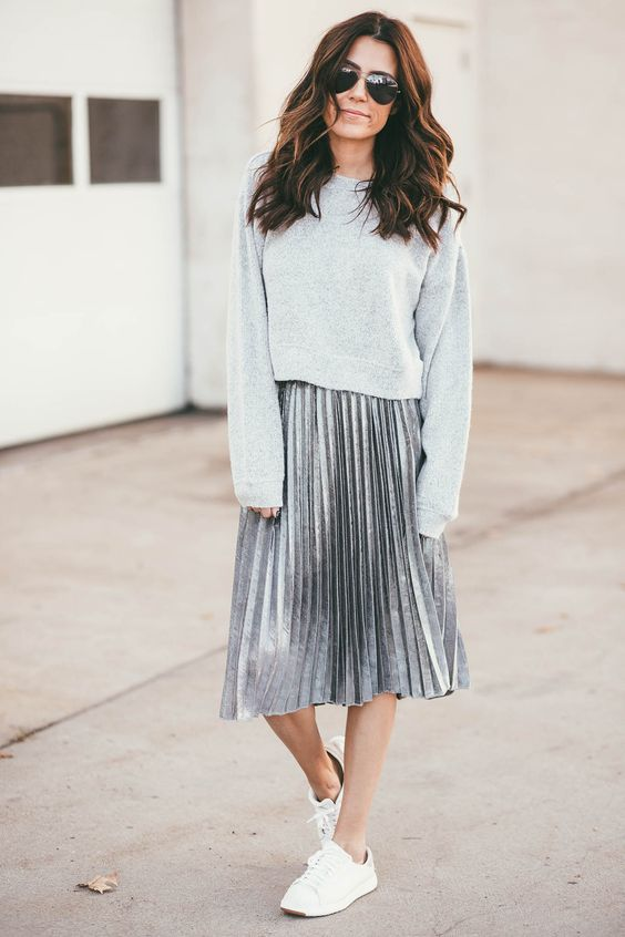 negozio online a605b 5bcef Come indossare la gonna plissé? Miniguida super facile alla ...