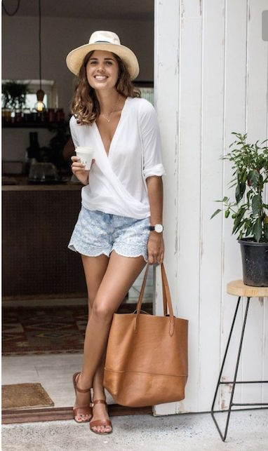 outfit sandali in cuoio