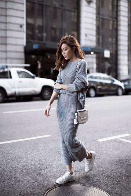 Come indossare le maglie tricot: idee di look