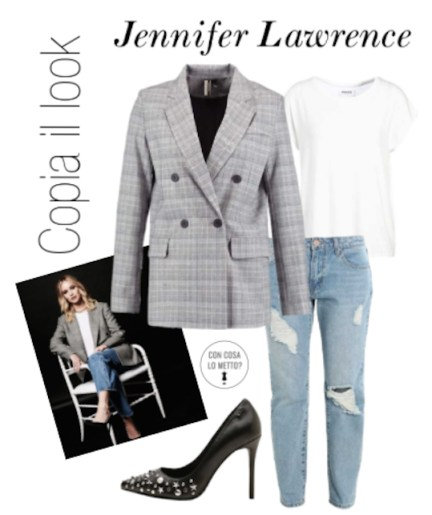 Copia il look: Jennifer Lawrence