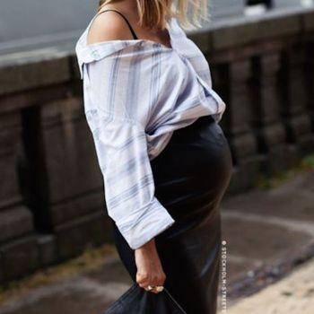 Look da gravidanza: pancioni versione streetstyle