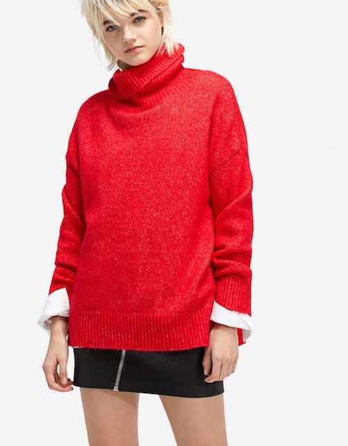 Rosso natale pull2