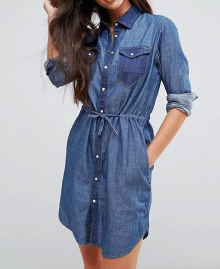 Cosa indossare quando si allatta: consigli di shopping, lo chemisier