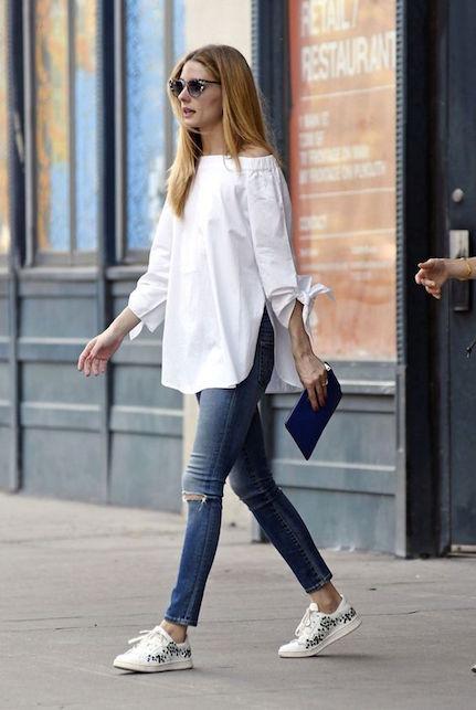 Look sportivo senza tacco: tre idee per voi - jeans e camicia