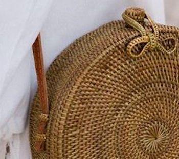 La borsa in paglia tonda: i miei consigli di shopping