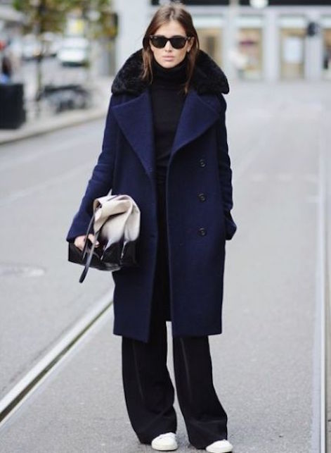 Come abbinare blu e nero: 5 idee di look facili