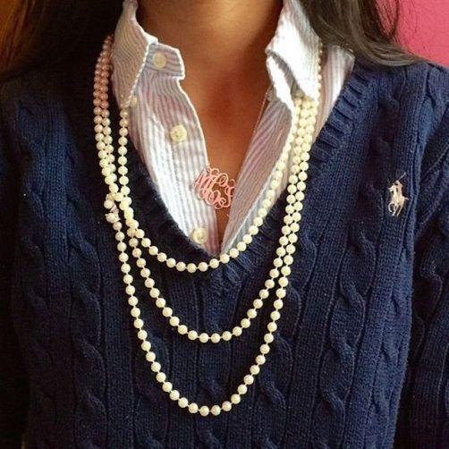 Come indossare le perle: una guida pratica