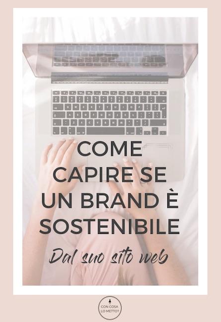 Moda sostenibile: come capire se un marchio è etico dal suo sito web