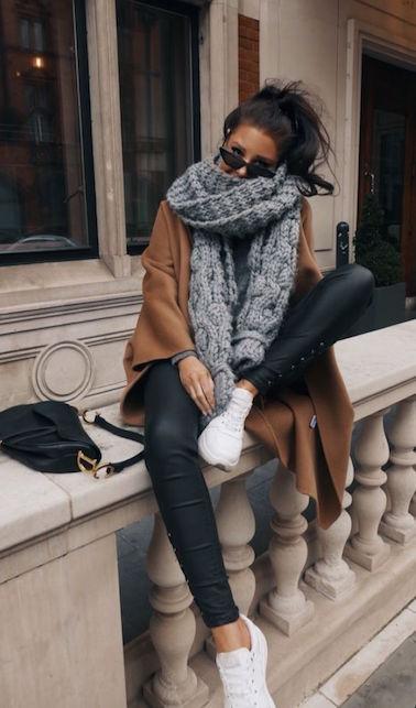Come indossare la sciarpa in inverno