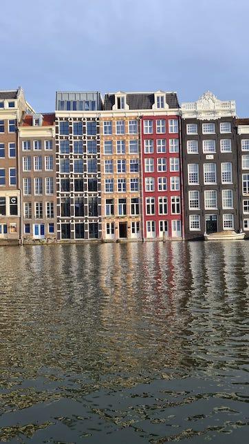 Valigia per un weekend ad Amsterdam