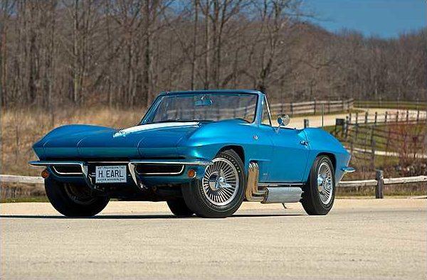 1963 harley j earl corvette