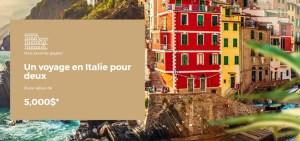 Gagner un voyage pour 2 en italie grâce à Peinture MF (Valeur de 5000$)
