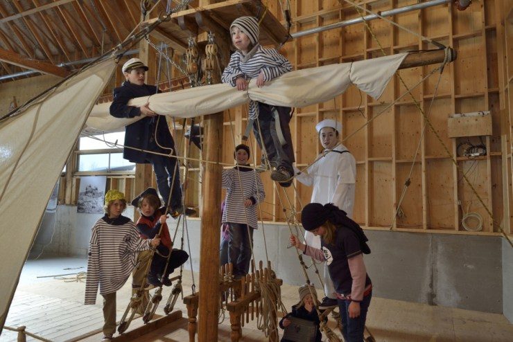 Gagnez un séjour à L'Islet, comprenant un laissez-passer familial VIP au Musée maritime du Québec, ainsi qu'un forfait « Aventure gastronomique au moulin » à l'Auberge des Glacis.
