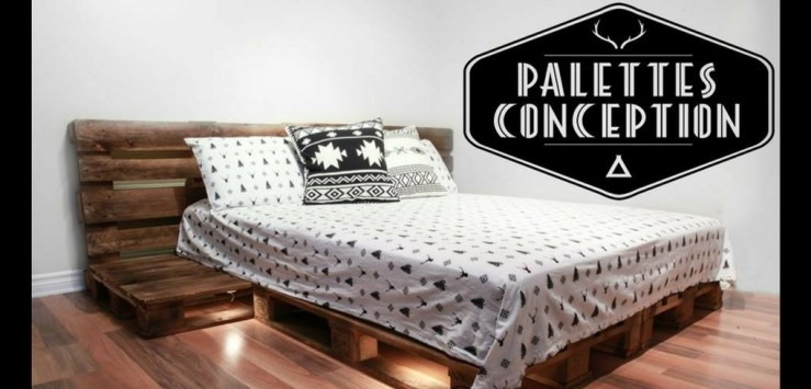 Gagner un ensemble de lit ORIGINAL offert par Palettes Conception