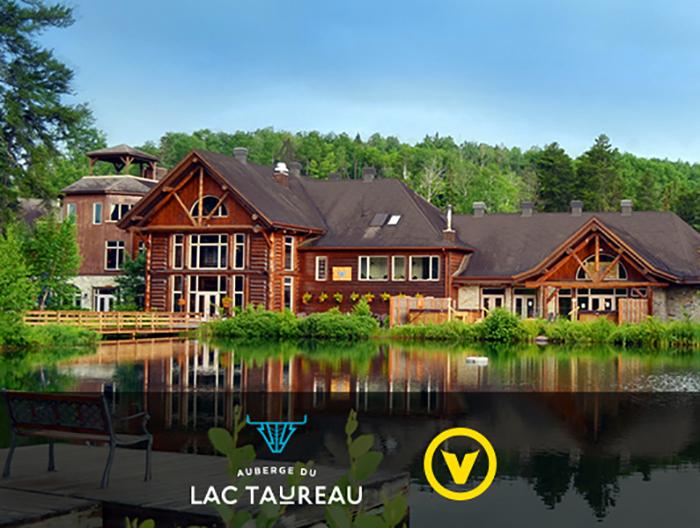 Concours – Gagnez un forfait à l'Auberge du Lac Taureau