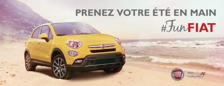 Concours - Gagner le véhicule FIAT de votre choix!