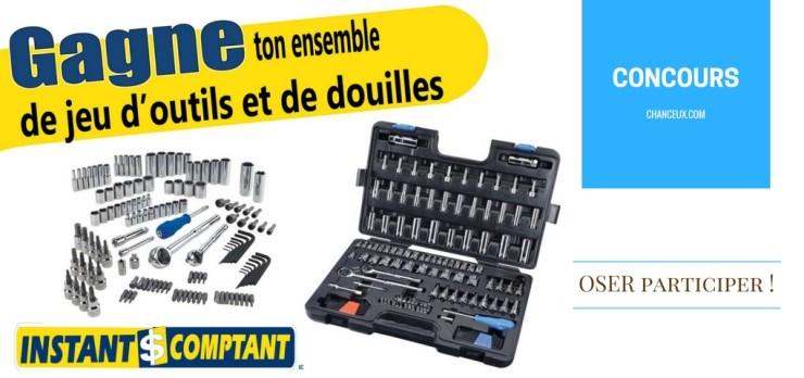 Concours: Gagner ces outils grâce à Instant Comptant Québec