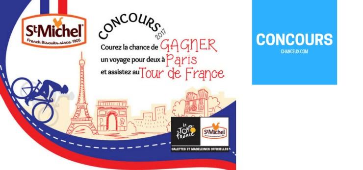 Gagner un voyage en France et Deux Accès VIP au Tour de France