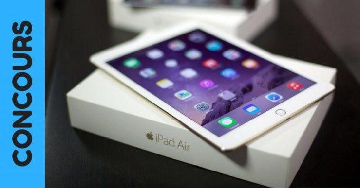 Concours - Gagnez un iPad mini 4 Wi-Fi de 128 Go