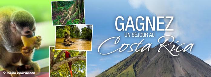Gagnez votre séjour au Costa Rica ( valeur de 3 445$)