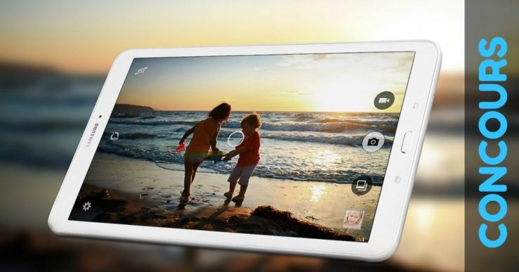 Image Concours tablette Galaxy