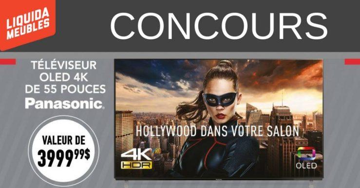 Image concours TV Panasonic OLED 4K de 55 pouces (2)