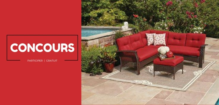 Gagner ce magnifique mobilier de jardin !