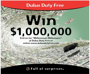 Image result for dubai duty free ticket logo
