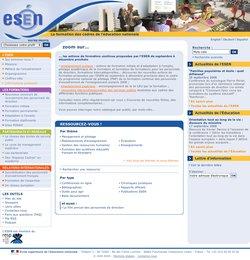 Le site de l'ESEN